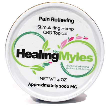 Pain Relieving CBD Salve