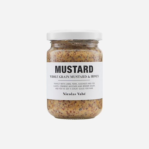 MUSTARD - WHOLE GRAIN & HONEY