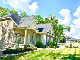 Crestwood Kentucky home landscaping