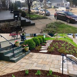 Highlands neighborhood landscape project
