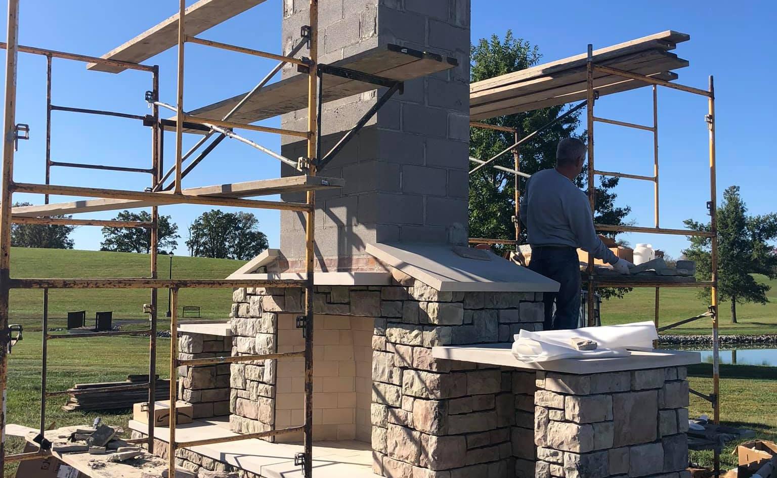OUTDOOR FIREPLACE CONSTRUCTION FINCHVILLE KENTUCKY