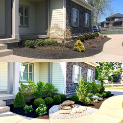 Crestwood home before and after