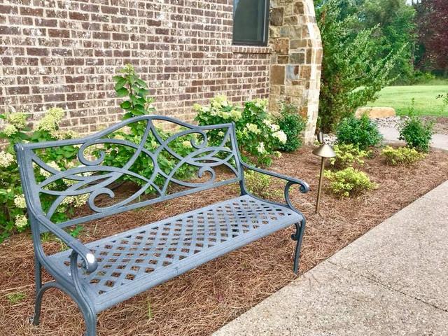 Decorative Metal Bench