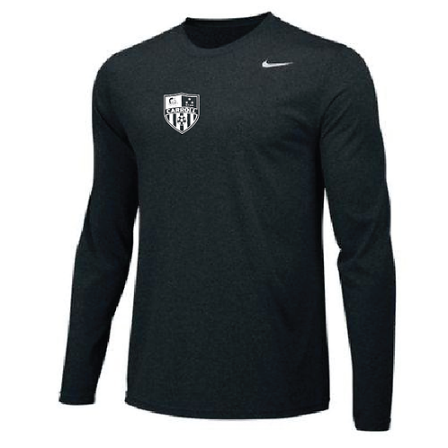 Nike® Long Sleeve Small Soccer Crest
