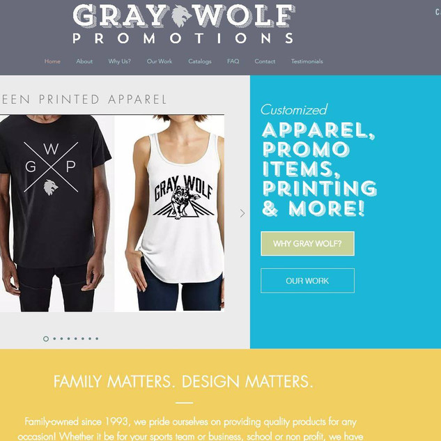 Gray Wolf Promtions, Inc.