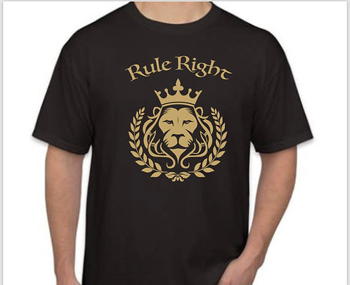 """Rule Right"" Lion Men Tee"
