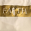 "Thumbnail: ""LIVE BY FAITH"" TEE (GOLD)"