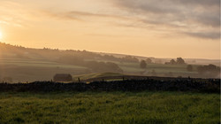 Sunrise over the Yorkshire Dales