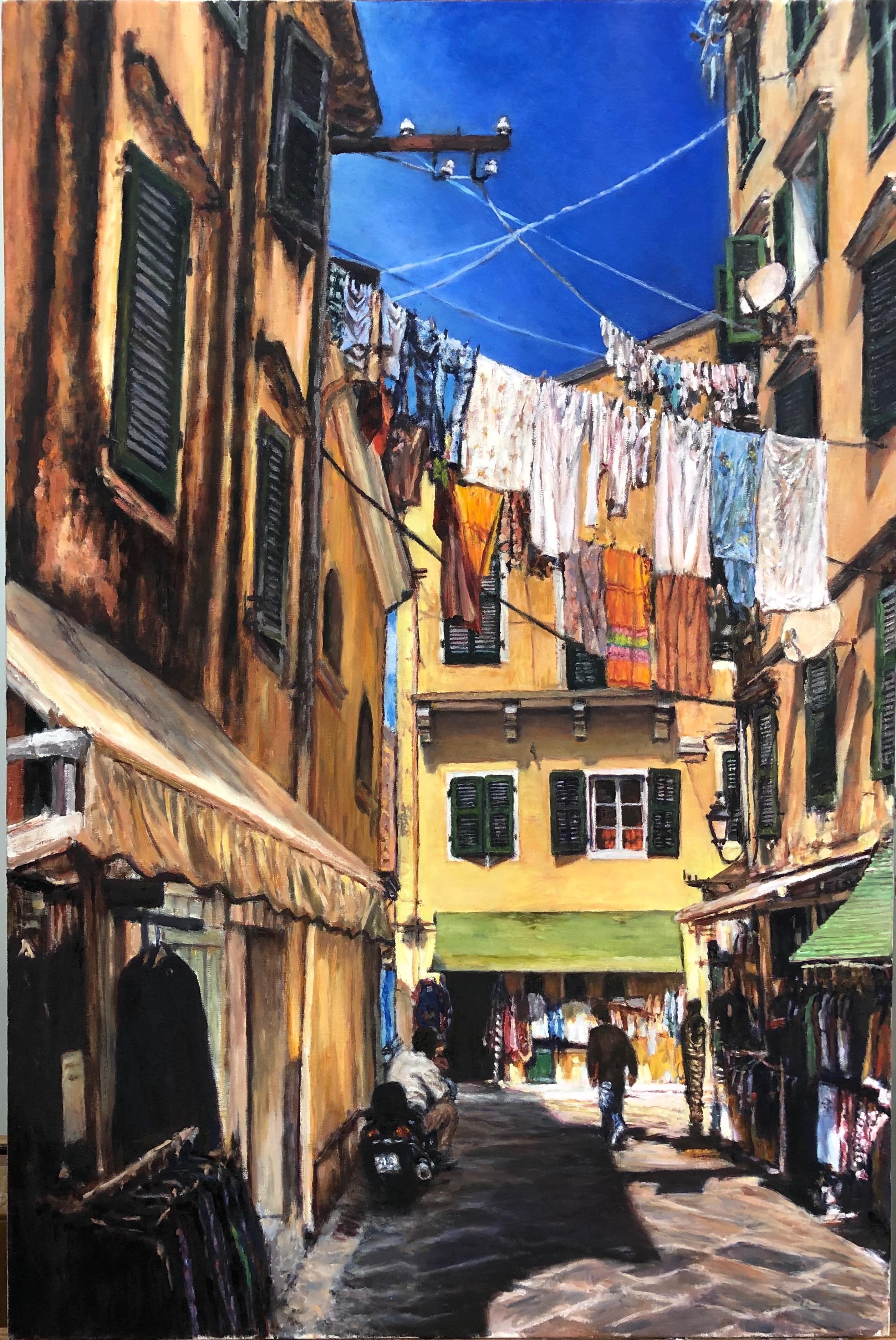 Corfu Street Scene
