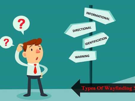 4 Different Types of Wayfinding Signage