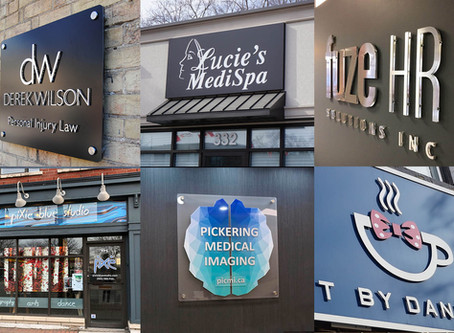 Looking To Upgrade Your Branding? Consider New Business Signage