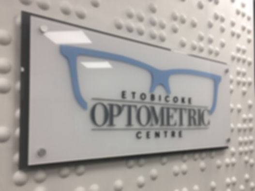 3D Reception Wall Sign