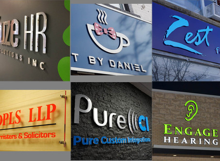 Attract More Attention (And Customers!)  With These Sign Design Tips