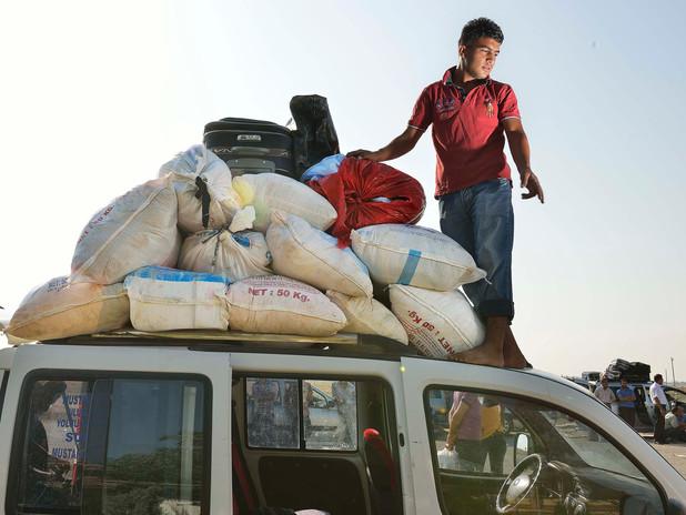 SYRIAN BORDERLINE