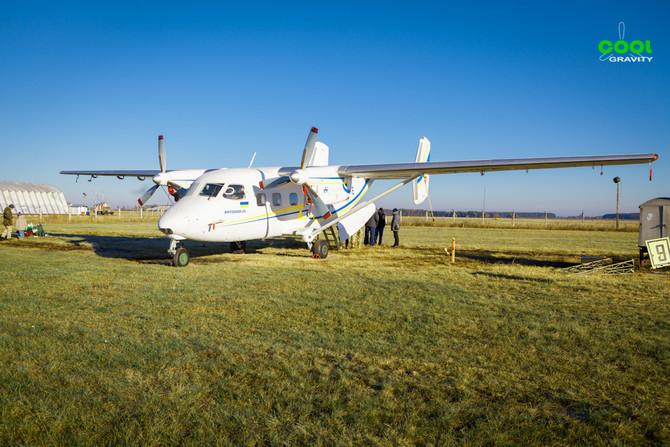 Прыжки с парашютом, самолет Ан 28