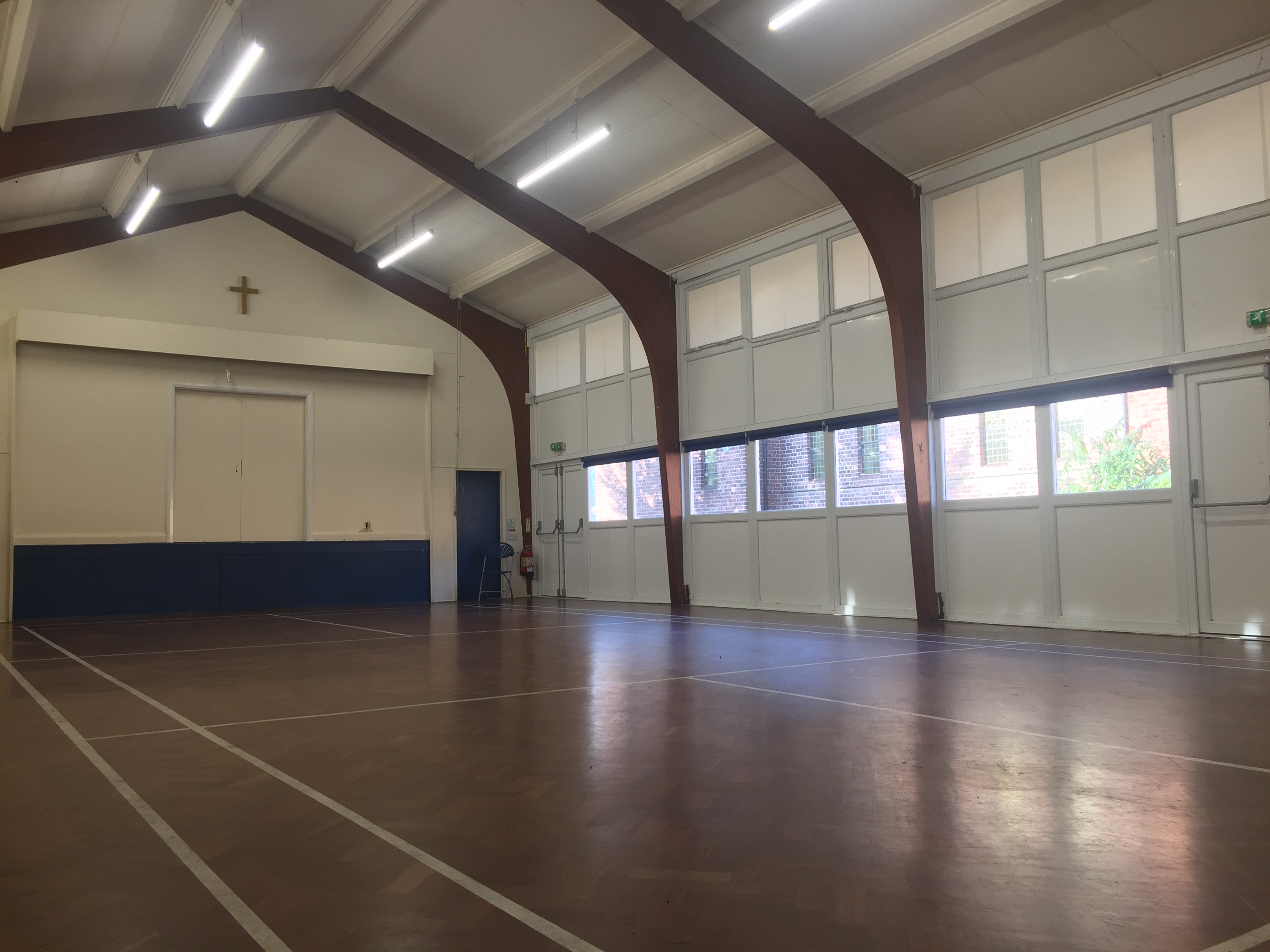 The main room of our Church Hall