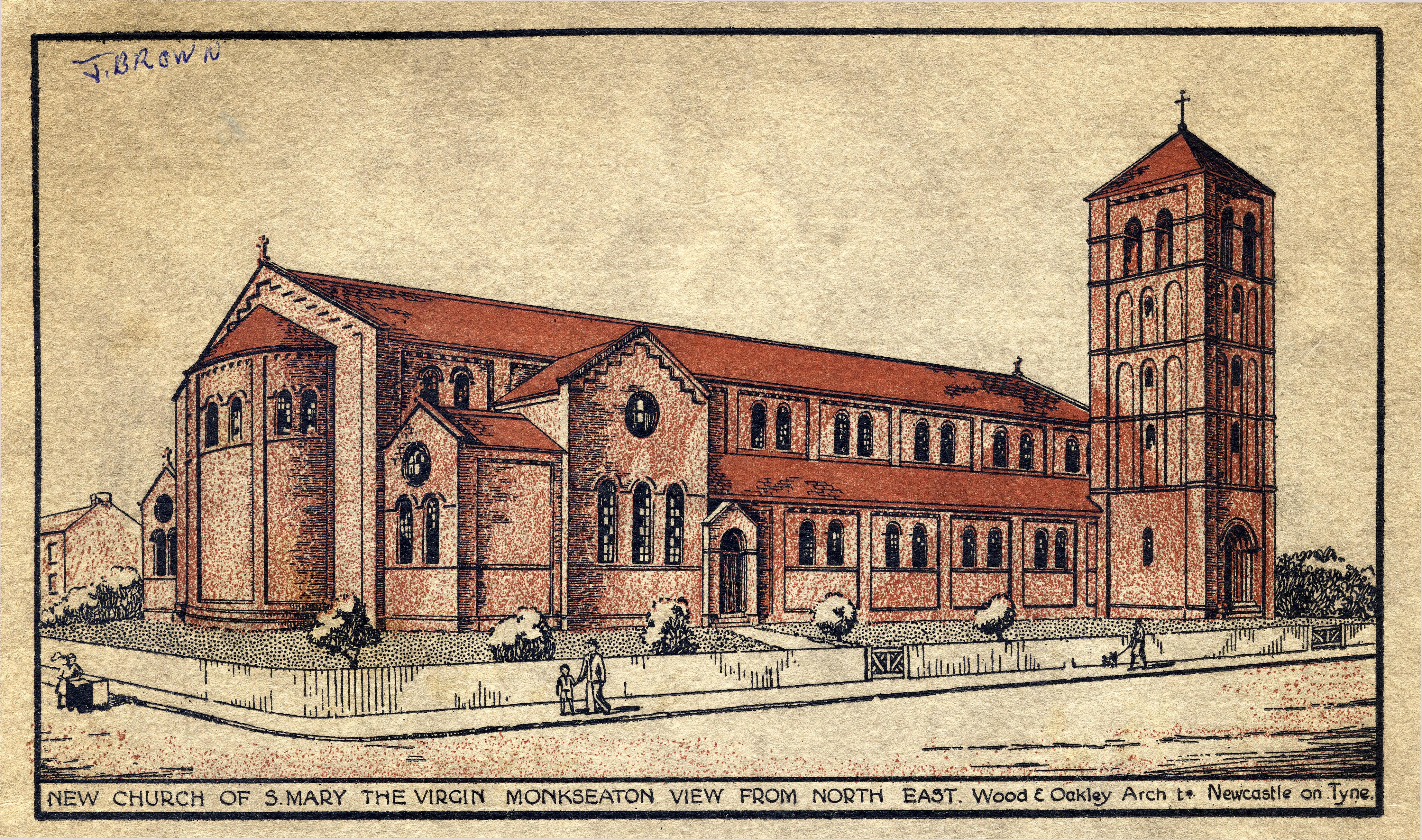 Original design for St Mary's