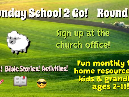 Sunday School 2 Go - Round 3
