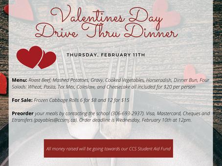 Valentine's Drive Thru Dinner