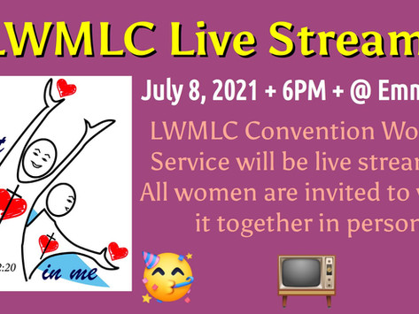 July 8th LWMLC Live Stream