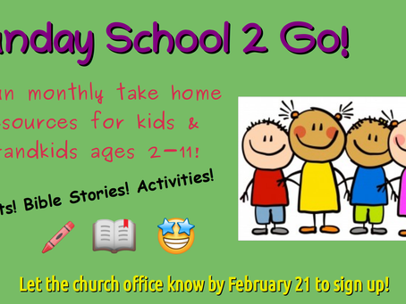 Sunday School 2 Go!