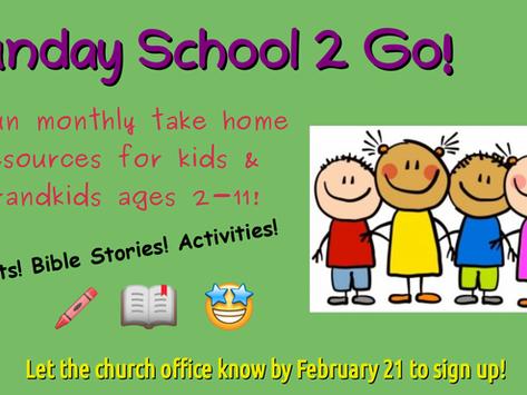 Sunday School 2 Go!