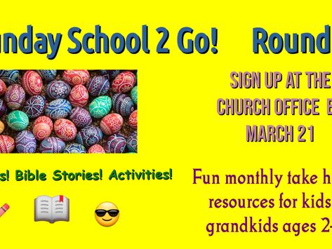 Sunday School 2 Go - Round 2