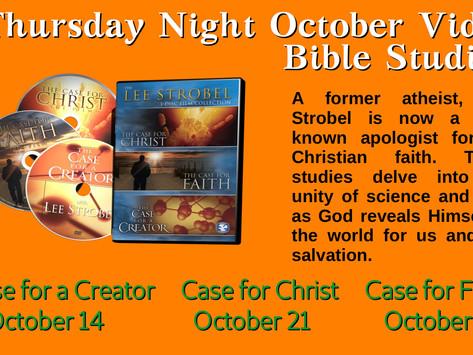 October Bible Studies