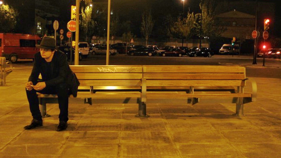 Peter On A Bench In Zaragoza, Spain.