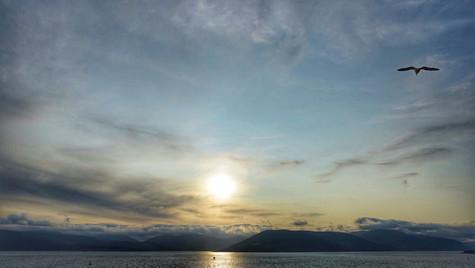A Sunset ...