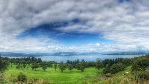 Gourock Golf Course, Panorama ...