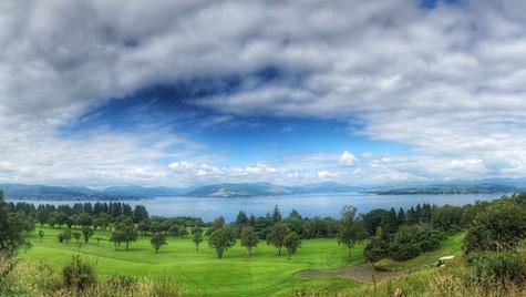 Gourock Golf Course, Panorama ...