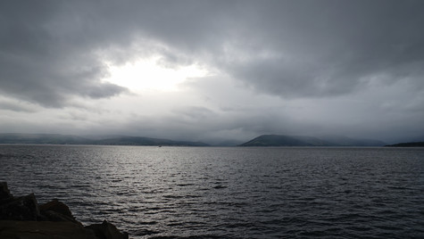 A Moody Day On The Clyde ...