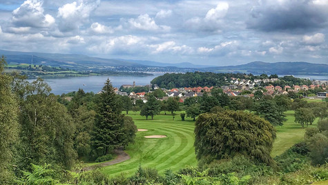 Eighteenth, Gourock Golf Course ...
