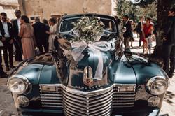 La voiture d'honneur