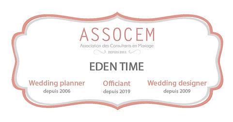Assocem Eden Time Wedding Planner Savoie