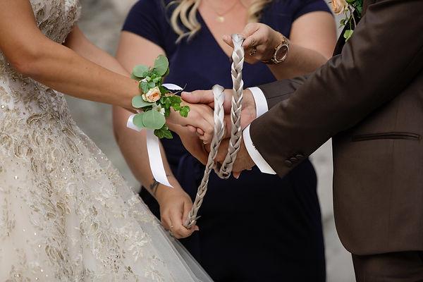 Cérémonie du ruban - Eden Time Wedding planner & Officiant