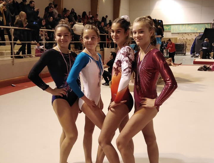 Des gymnastes qui assurent !