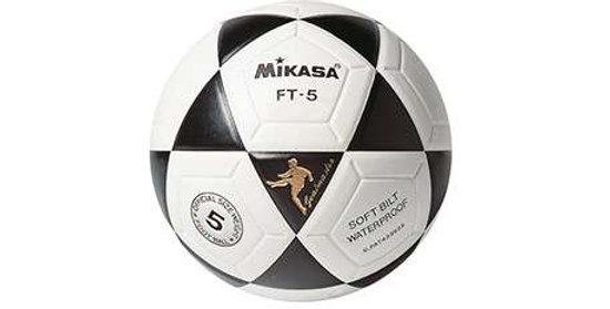 Balón Fútbol 11 Mikasa FT-5 Cuero Sintético Termosoldado