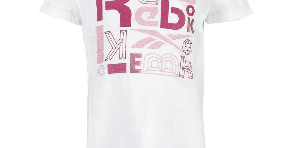 Camiseta Reebok Big Puzzle Niña