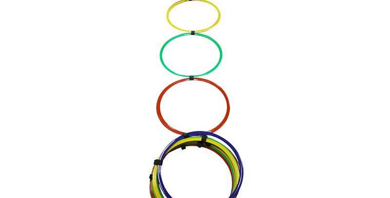 Escalera de Agilidad Aros Multicolor