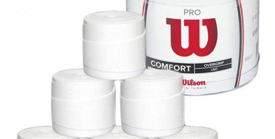 Tarro 60 Overgrips Wilson Pro Blanco