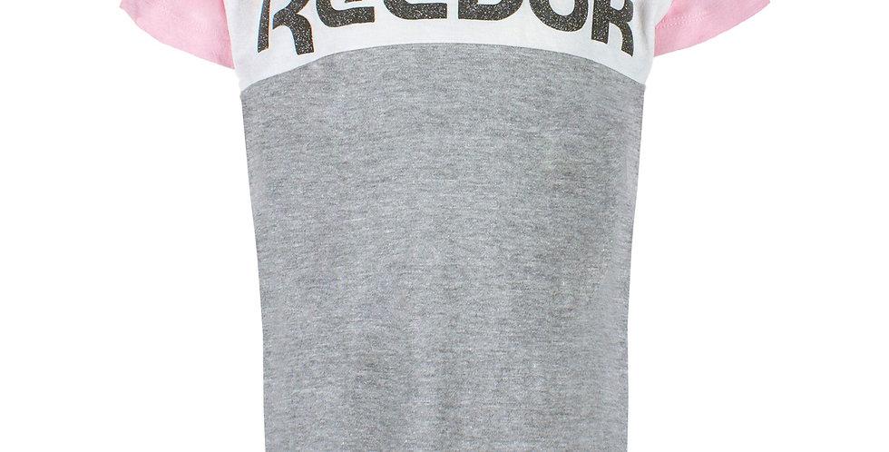 Camiseta Reebok Big Color Blocked Niña