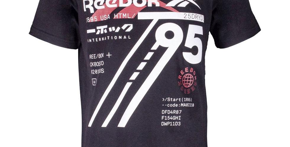 Camiseta Reebok Big Vector Glass Niño