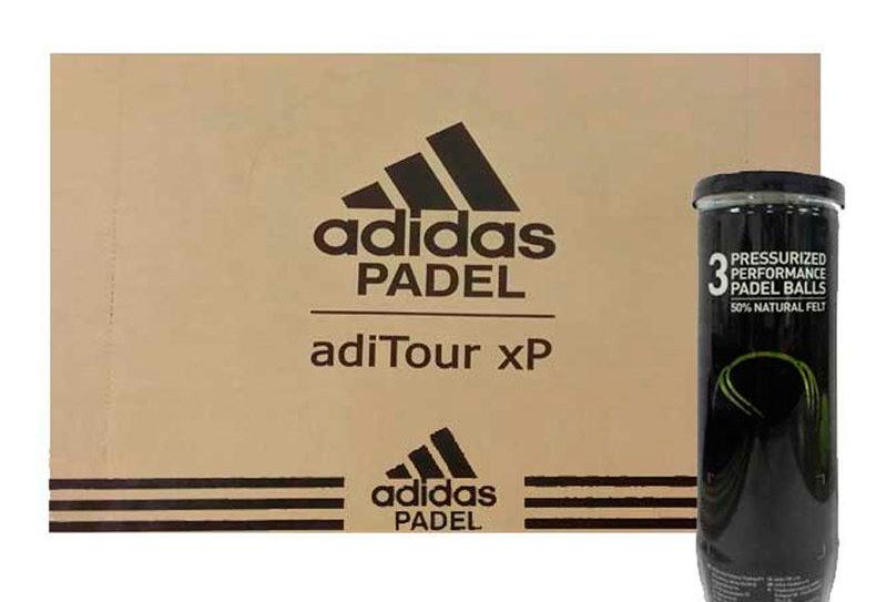 Cajón Pelotas de Pádel Adidas AditourXP x3