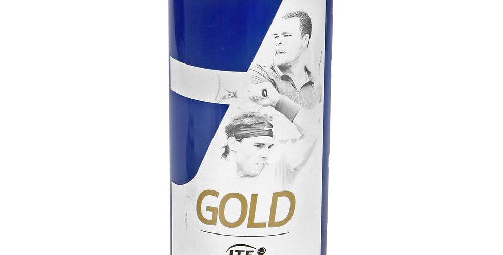 Bote Pelotas de Tenis Babolat Gold x3