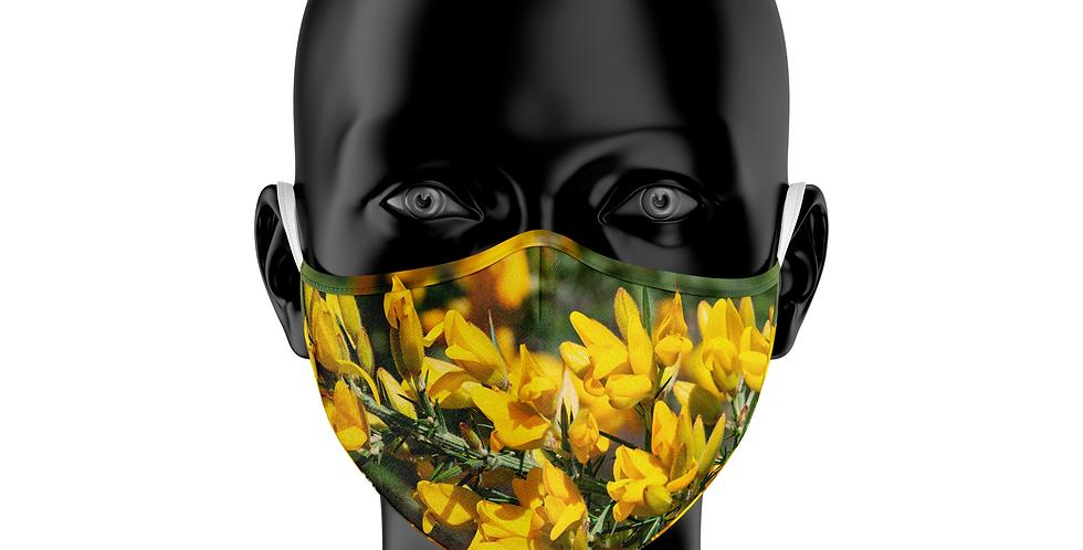 Mascarilla Reutilizable Flor de Toxo
