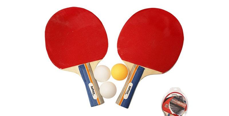Juego Raquetas de Tenis de Mesa con Pelota