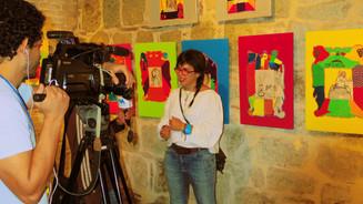 Retra-tablos Exhibition, Textile Museum, Oaxaca, Mexico