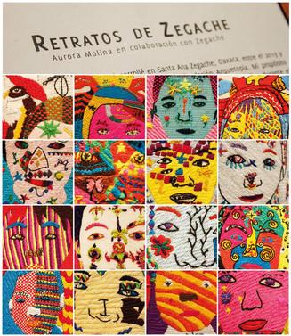 El proyecto de la artista Aurora Molina conócelo en el patioTRES del Museo Textil de Oaxaca